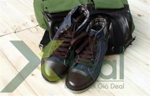 Giày Jean Miss Olive Cổ Cao mang phong cách mới lạ thời trang năng động cho bạn trẻ. Gía hấp dẫn chỉ có 290.000đ