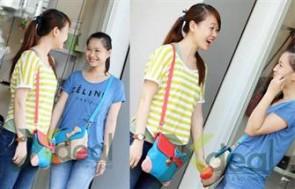 Túi nữ Chou dễ thương cho người đeo phong cách trẻ trung, năng động.