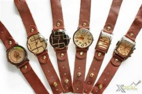 Hàng độc - Đồng hồ dây da X-watch, mặt kính lớn, siêu cá tính với phong cách rất BỤI. Bảo đảm không đụng hàng chỉ với 99,000đ. Gía cực shock chỉ có tại Xdeal.vn - 1 - Thời Trang Nam