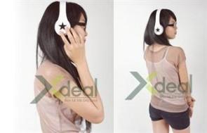 Hiện đại và cực sành điệu với chiếc headphone MP3 DJ STAR ấn tượng. Vừa là chiếc Headphone đẳng cấp vừa là chiếc máy nghe ngạc MP3 đậm chất cá tính. Giá chỉ có 599,000đ tại Xdeal.vn. - 14 - Sức khỏe và làm đẹp