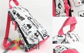 Balo Pucca xinh xắn: Thời trang giành cho các bạn gái trẻ năng động, đáng yêu. Đặc biệt dành cho các bạn là Fan của Pucca nhé
