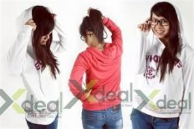 Phong cách mới trẻ trung, năng động cùng áo thun Everyday-Afuntime tay dài có nón phong cách Hàn Quốc.
