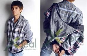 Aó khoác nam Fashion Break Point với kiểu dáng đa phong cách sẽ mang lại cho bạn bạn sự trẻ trung, năng động.