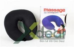 Gối Massage Cổ Xua Tan Cảm Giác Mệt Mỏi, Mang Đến Cho Bạn Cảm Giác Thư Giãn Thoải Mái Và Một Giấc Ngủ Ngon.