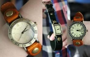 Đồng hồ da thật Gensa: Dễ thương cực thời trang và đầy cá tính dành cho những cô nàng xinh xắn.