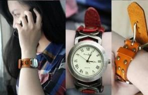 Đồng hồ da thật Tokosa cá tính, dễ thương, thời trang với tông màu trẻ trung, kiểu dáng độc đáo phù hợp với gu thời trang của giới trẻ.