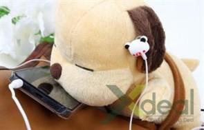 Tai nghe mini dễ thương và ngộ nghĩnh cho bạn thoả sức thưởng thức âm nhạc của mình.