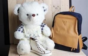 Gấu bông mặc áo Good Luck món quà ý nghĩa cho người thân, bạn bè nhân dịp đặc biệt.