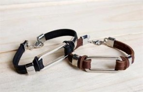 Chiếc vòng tay da - Inox cute cực cá tính, sành điệu dành cho các bạn trẻ với mẫu thiết kế ấn tượng.