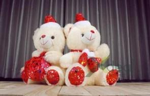 Gấu bông đội mũ dễ thương - Món quà xinh xắn, đáng yêu dành cho người thân thương. - Vật Phẩm Trang Trí