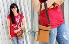 Túi mini đeo chéo Croket với 4 ngăn nhỏ tiện dụng, giúp bạn cất giữ được những vật dụng nhỏ: điện thoại, son môi, ví, chìa khoá...