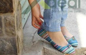 Giày búp bê nữ Wedgue với phong cách dịu dàng nữ tính nhưng cũng cực kỳ trẻ trung và năng động được rất nhiều bạn gái yêu thích.