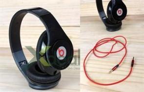 Phong cách chuẩn men với Tai nghe Monster Beats by Dr Dre Studio dây rời vành tai êm một thiết kế mới CHỤP TAI phong cách âm nhạc cho giới trẻ. - 2 - Sức khỏe và làm đẹp - Sức khỏe và làm đẹp