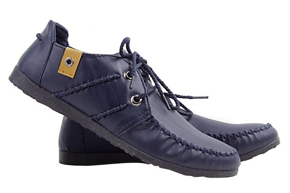 Giày nam sang trọng - Xanh đen - D19