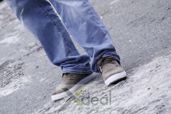 Giày nam cột dây thưa phối màu - C76
