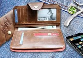 Mới lạ và phong cách trong chiếc ví da dài 18cm dáng đứng dành cho các bạn trẻ năng động. Giá cực hấp dẫn chỉ có 119,000đ tại Xdeal.vn.