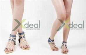 Dạo bước thoải mái và mát mẻ cùng sandal nữ ToLoz xinh xắn. Giá chỉ có 199.000đ tại xdeal.vn.