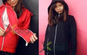 Áo khoác nữ style Hàn Quốc cổ cao bảo vệ bạn khỏi ánh nắng mặt trời, bụi bẩn và những buổi tối trở lạnh với với giá hấp dẫn chỉ 145.000đ, Tại xdeal.vn