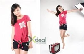 Thật tự tin và xinh tươi khi dạo phố với chiếc áo thun nữ for Teen xinh xắn trẻ trung. Giá chỉ có 79.000đ tại xdeal.vn.