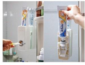 Hộp nặn kem đánh răng tự động