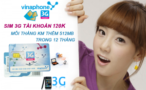 Yeah1 Deal - HOT Sim 3G Vinaphone Tk 120.000