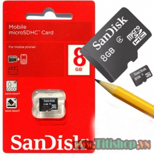 HOT The nho Sandisk 8GB FULL BOX