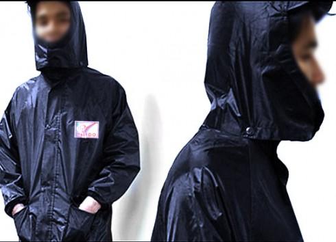 Áo mưa dạng bộ quần áo cao cấp