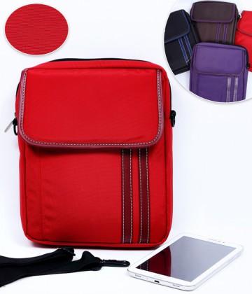 Túi đeo chéo iPad phối sọc