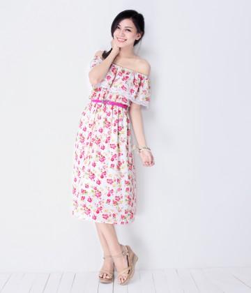 Đầm Maxi Pinkflowers