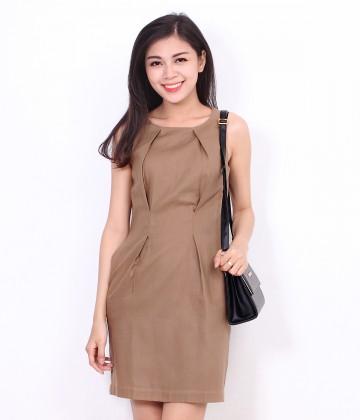 Đầm suông classic Foci