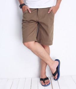Zanado - Quan short kaki nam milo color