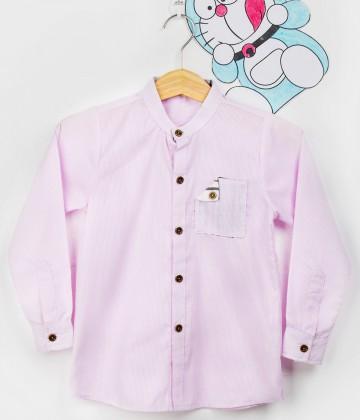 Combo 2 áo sơ mi cho bé trai lịch lãm