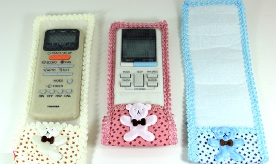 Combo 3 vỏ bọc remote hình gấu