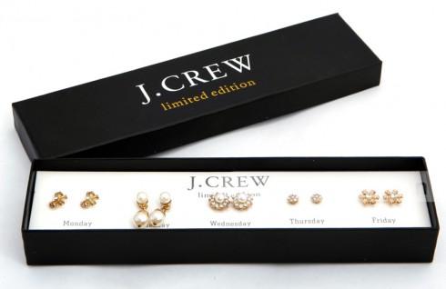 Bộ sản phẩm 5 đôi bông tai J-crew