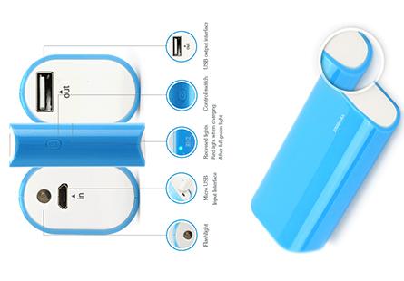 Pin dự phòng Pisen Portable Power 2500mAh