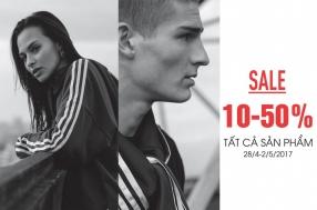 Khuyến mãi 2017 thời trang Adidas giảm giá 50% mừng 30-4 và 1-5 | Tin Khuyen Mai