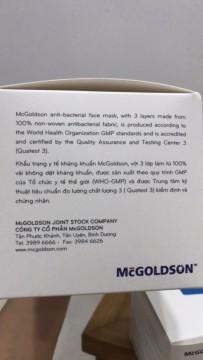 HOT HOT -----79k cho combo Khẩu trang y tế kháng khuẩn McGoldson - tiêu chuẩn thế giới | Tin Khuyen Mai