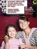 Khuyến mãi Megastar tặng voucher đổi vé xem phim tại MegaStar Crescent Mall