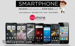 Hotphone khuyến mãi hót mừng khai trương showroom tại Thái Hà