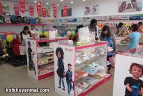 Cửa hàng Mẹ và Bé MBCare khuyến mãi tưng bừng chào đón Noen