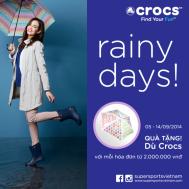 Khuyến mãi thời trang Crocs quà tặng hấp dẫn trong tháng 9-2014   Tin Khuyen Mai