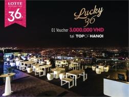 Khuyến mãi 2015 Lotte Department Store tặng ngay voucher 3M tại Nhà hàng TOP OF HANOI | Tin Khuyen Mai