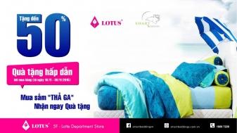 Khuyến mãi 2015 Lotte Department Store giảm giá hấp dẫn các sản phẩm Lotus | Tin Khuyen Mai