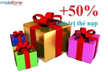 Khuyến mãi ngày 02/03 Mobifone tặng 50% thẻ nạp | Tin Khuyen Mai