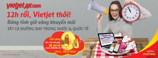 VietjetAir khuyến mãi mở bán 2,000,000 vé với giá chỉ từ 0 đồng | Tin Khuyen Mai