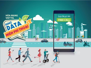 Viettel khuyến mãi dùng data miễn phí thoại 2016 | Tin Khuyen Mai