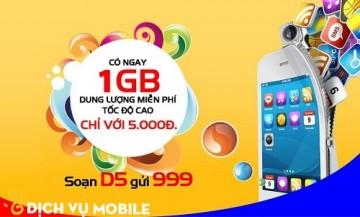 Đăng ký 3G Mobifone 1 ngày 5000đ gói cước D5 | Tin Khuyen Mai