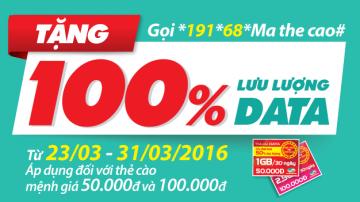 Khuyến mãi Viettel 100% thẻ nạp data ngày 28/3 – 31/3 | Tin Khuyen Mai