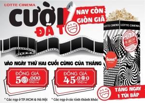 Lotte Cinema tặng bắp rang vào ngày thứ 2 cuối cùng của tháng | Tin Khuyen Mai