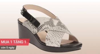 Clarks Shoes mua 1 tặng 1 mừng 30-4 và 1-5 | Tin Khuyen Mai